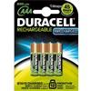 Baterie nabíjecí Duracell StayCharged AAA, HR03, 800mAh, Ni-MH, blistr 4ks