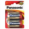 Baterie alkalická Panasonic Pro Power D, R20, blistr 2ks