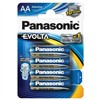 Baterie alkalická Panasonic Evolta AA, LR06, blistr 4ks