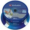 Disk Verbatim BD-R SL 25GB, 6x, 25-cake